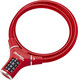 Masterlock 8229 - Antivol vélo - 12 mm x 900 mm rouge